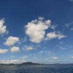 石垣島の夏の空